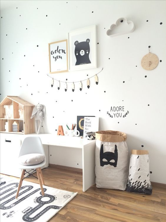Marvelous Black And White Kids Room Design Ideas To Try This Month01