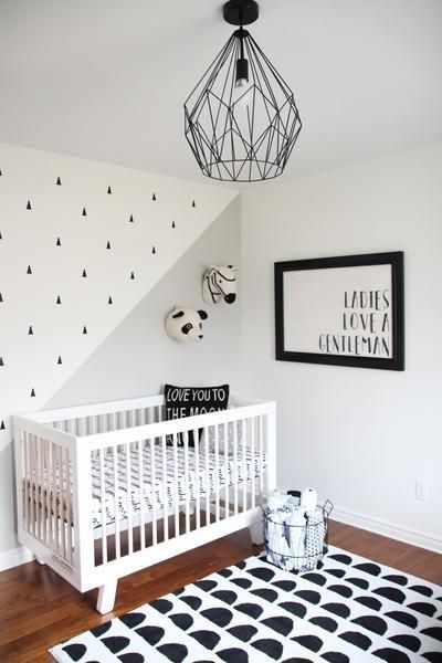 Marvelous Black And White Kids Room Design Ideas To Try This Month11