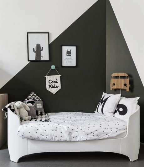 Marvelous Black And White Kids Room Design Ideas To Try This Month21