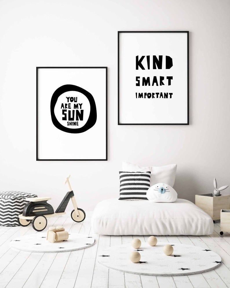 Marvelous Black And White Kids Room Design Ideas To Try This Month30