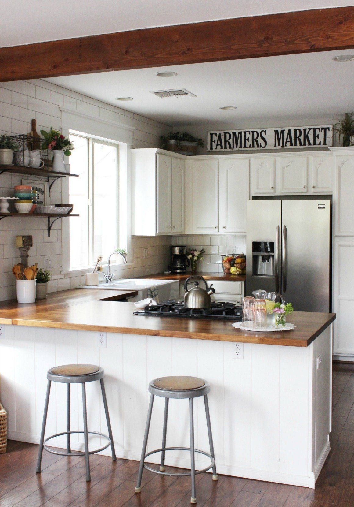 Perfect Kitchen Design Ideas For Small Areas That You Need To Try14
