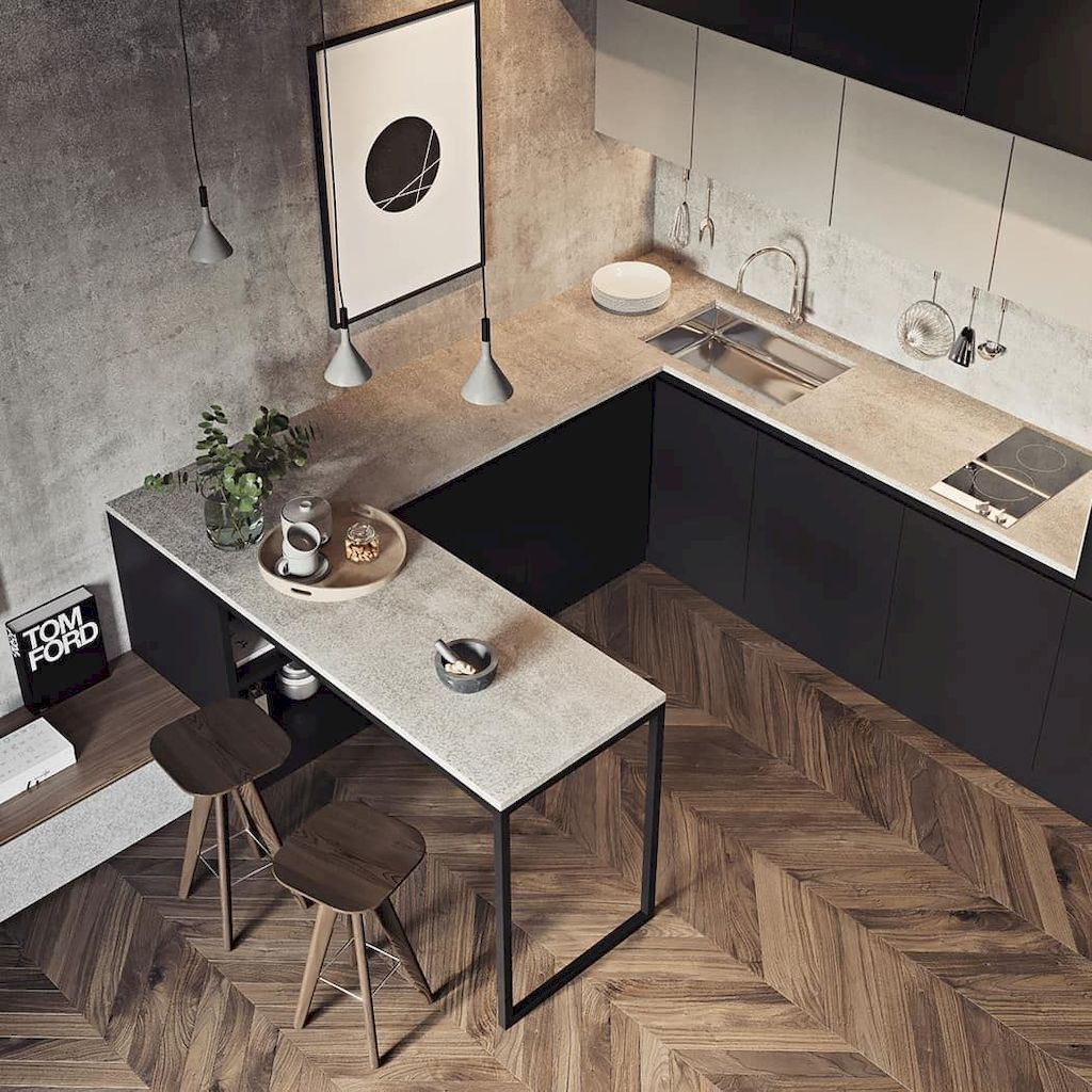Perfect Kitchen Design Ideas For Small Areas That You Need To Try33