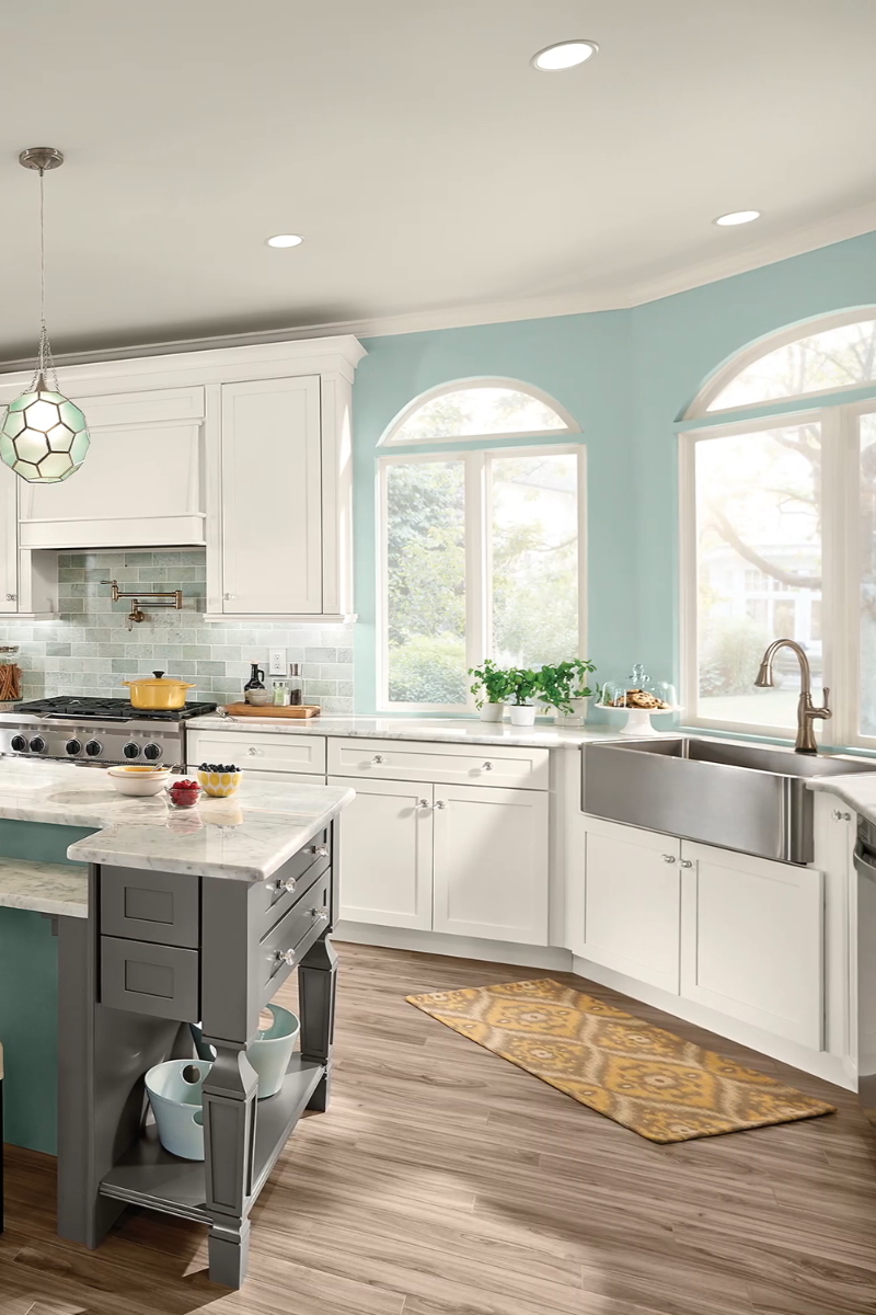 Relaxing Practical Kitchen Design Ideas For Every Solution15