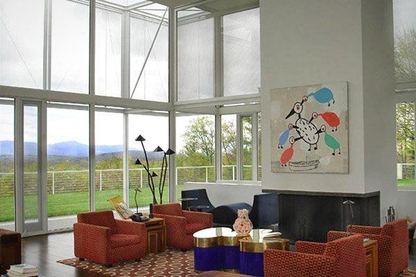 Splendid Glass House Design Ideas With 360 Degree View Of The Mountain03