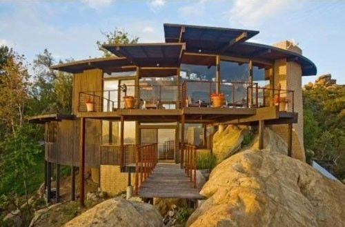 Splendid Glass House Design Ideas With 360 Degree View Of The Mountain05