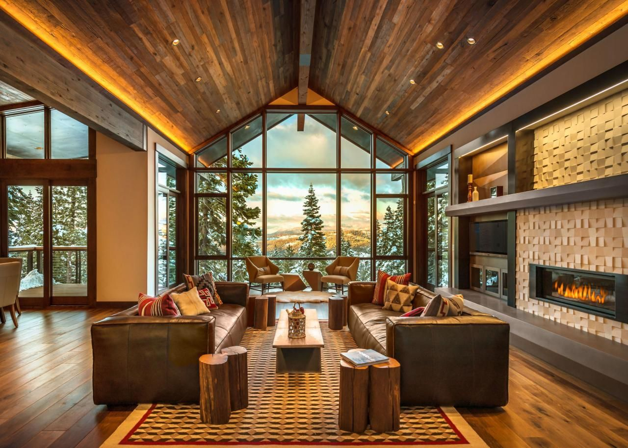 Splendid Glass House Design Ideas With 360 Degree View Of The Mountain13
