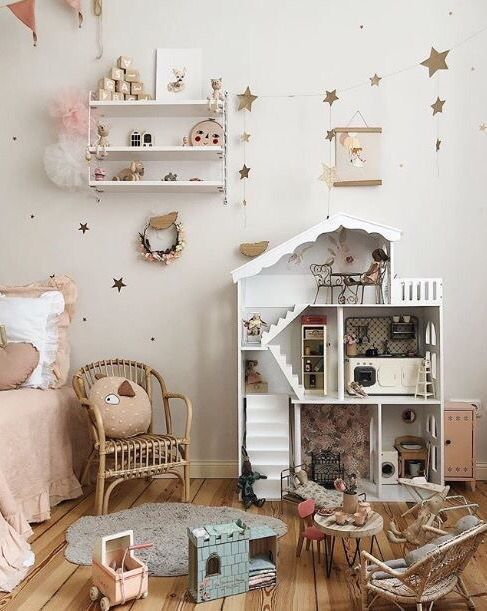 Wondeful Girls Room Design Ideas With Play Houses To Copy09