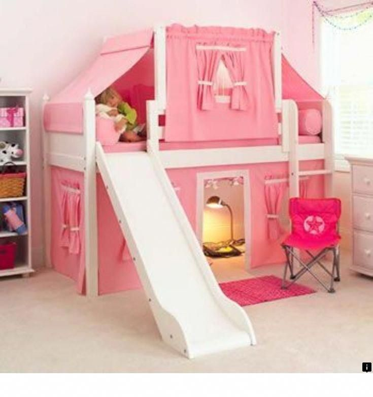 Wondeful Girls Room Design Ideas With Play Houses To Copy20