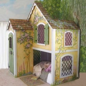 Wondeful Girls Room Design Ideas With Play Houses To Copy25