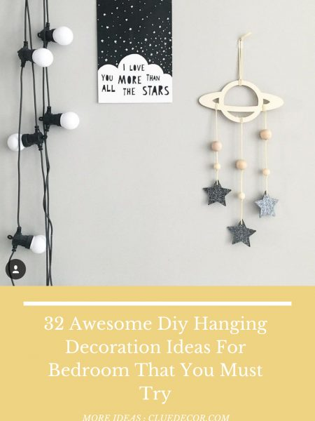32 Awesome Diy Hanging Decoration Ideas For Bedroom That You Must Try