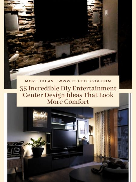 35 Incredible Diy Entertainment Center Design Ideas That Look More Comfort