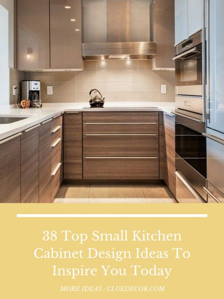 38 Top Small Kitchen Cabinet Design Ideas To Inspire You Today