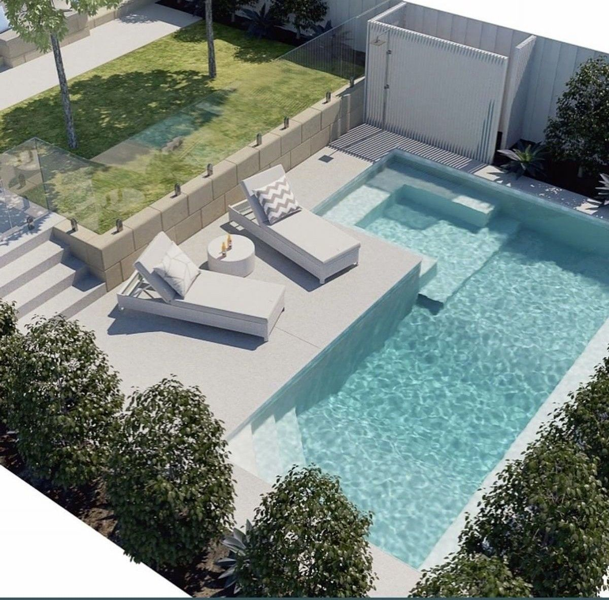 Inspiring Small Backyard Pool Design Ideas For Your Relaxing Place15