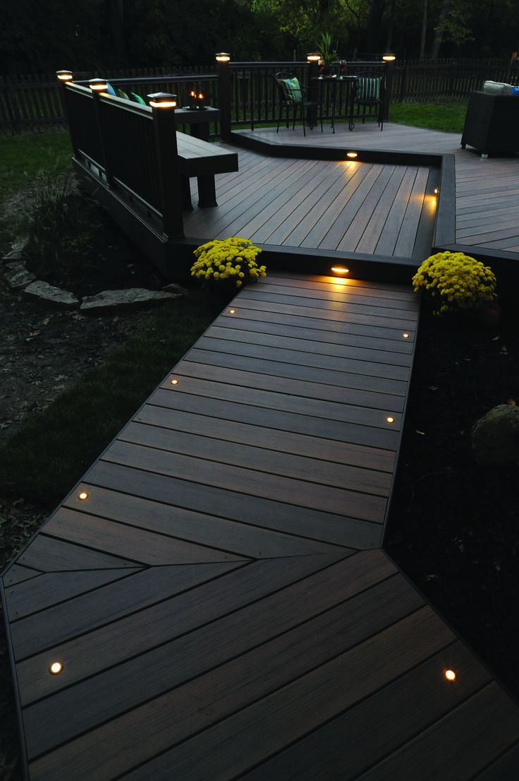 Lovely Deck Lighting Design Ideas For Cozy And Romantic Nuances At Night31
