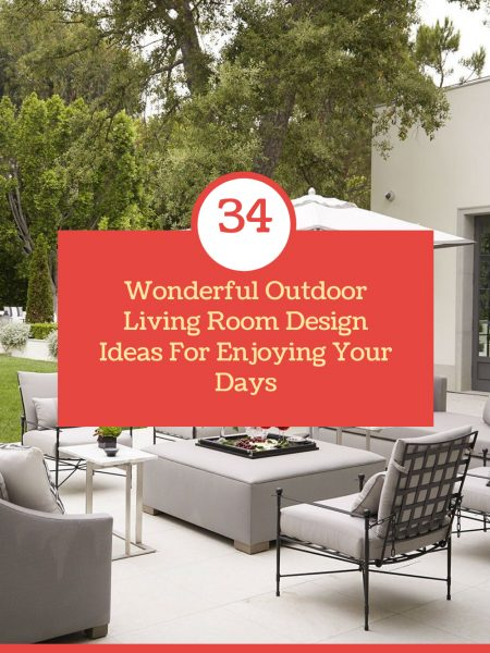 Wonderful Outdoor Living Room Design Ideas For Enjoying Your Days