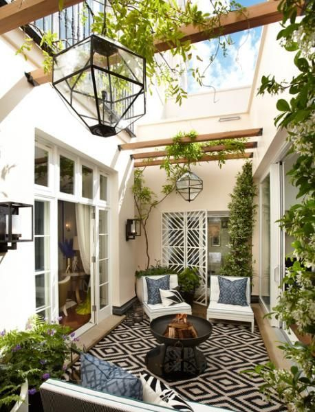 Wonderful Outdoor Living Room Design Ideas For Enjoying Your Days02