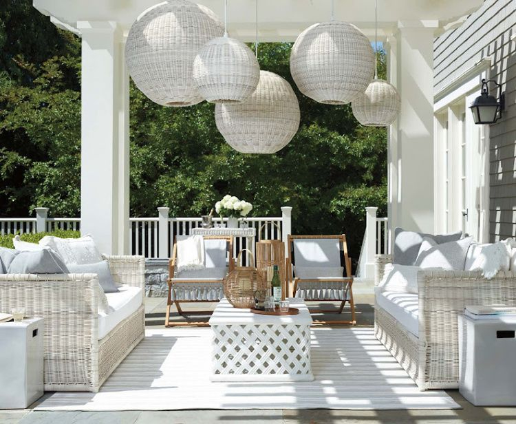 Wonderful Outdoor Living Room Design Ideas For Enjoying Your Days10