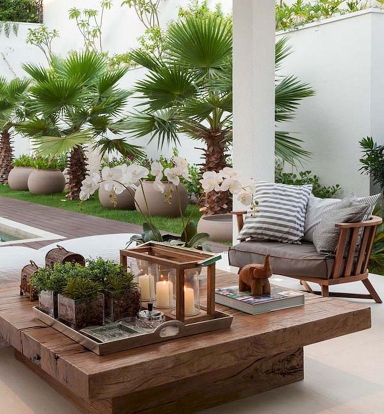 Wonderful Outdoor Living Room Design Ideas For Enjoying Your Days12