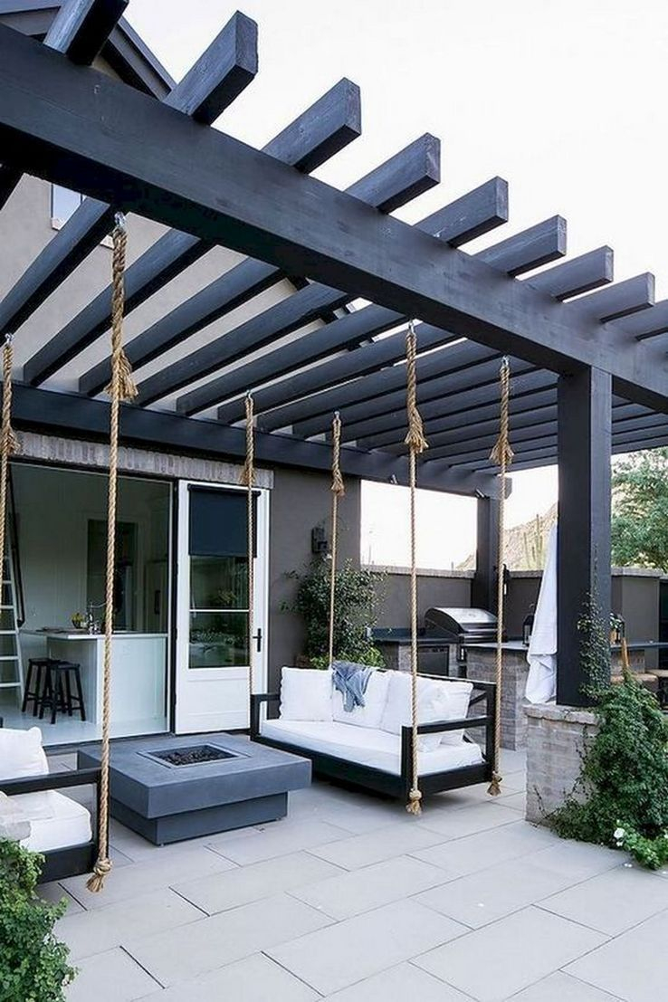 Wonderful Outdoor Living Room Design Ideas For Enjoying Your Days20