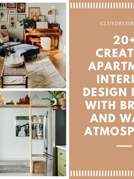 20+ Creative Apartment Interior Design Ideas With Bright And Warm Atmosphere