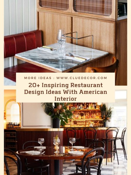 20+ Inspiring Restaurant Design Ideas With American Interior