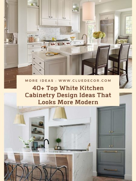 40+ Top White Kitchen Cabinetry Design Ideas That Looks More Modern