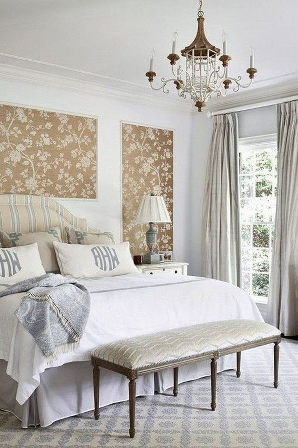 Best Bedroom Wallpaper Decor Ideas That Suitable For Your Family 04