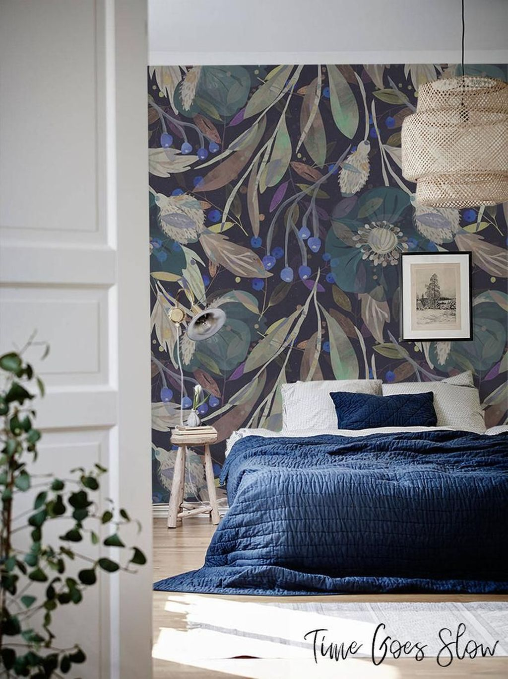 Best Bedroom Wallpaper Decor Ideas That Suitable For Your Family 05