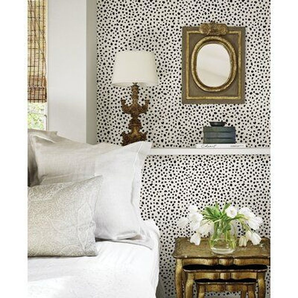 Best Bedroom Wallpaper Decor Ideas That Suitable For Your Family 26
