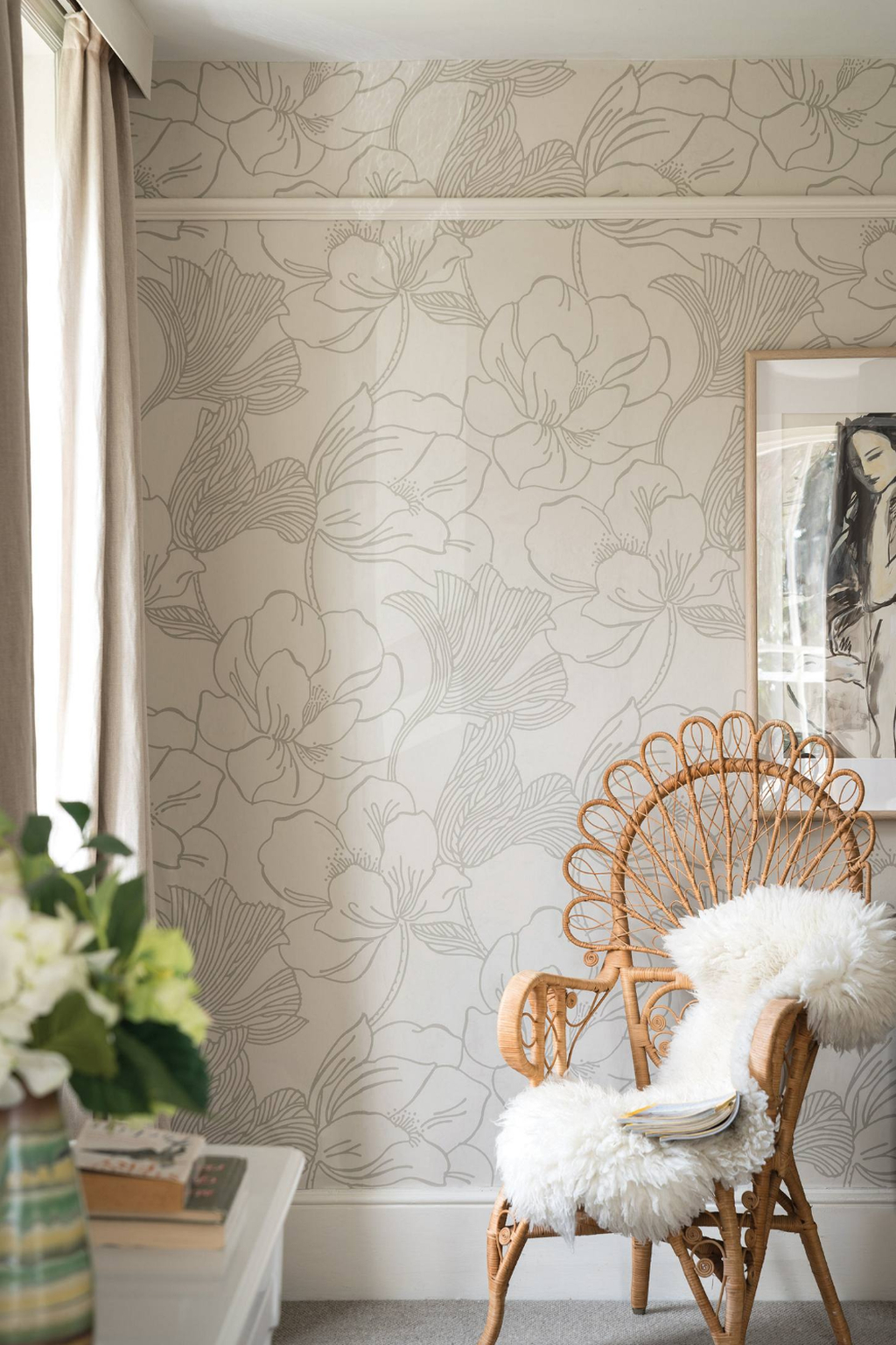 Best Bedroom Wallpaper Decor Ideas That Suitable For Your Family 47