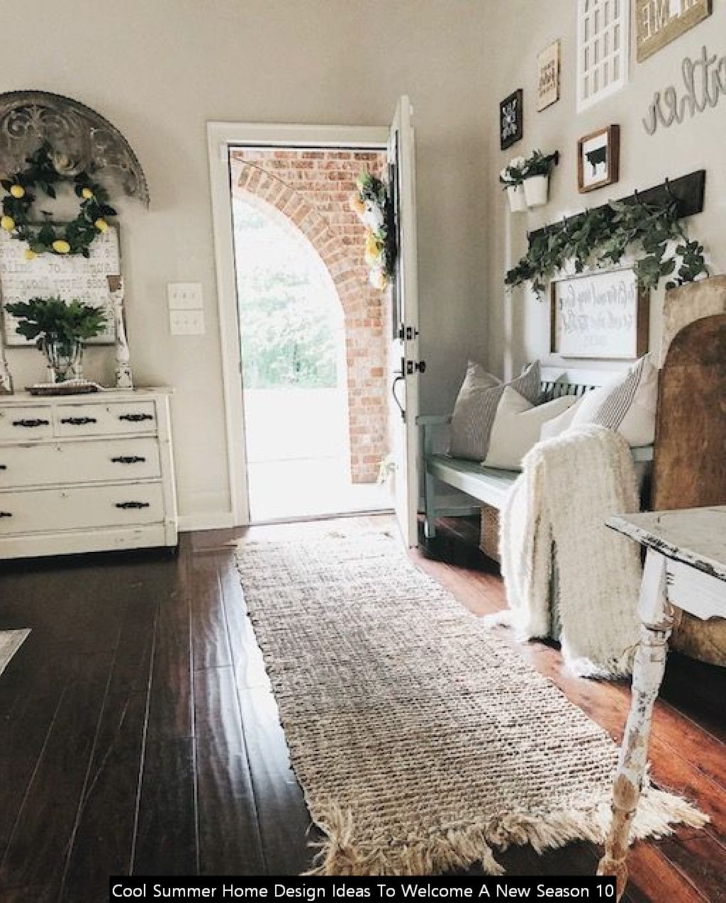 Cool Summer Home Design Ideas To Welcome A New Season 10