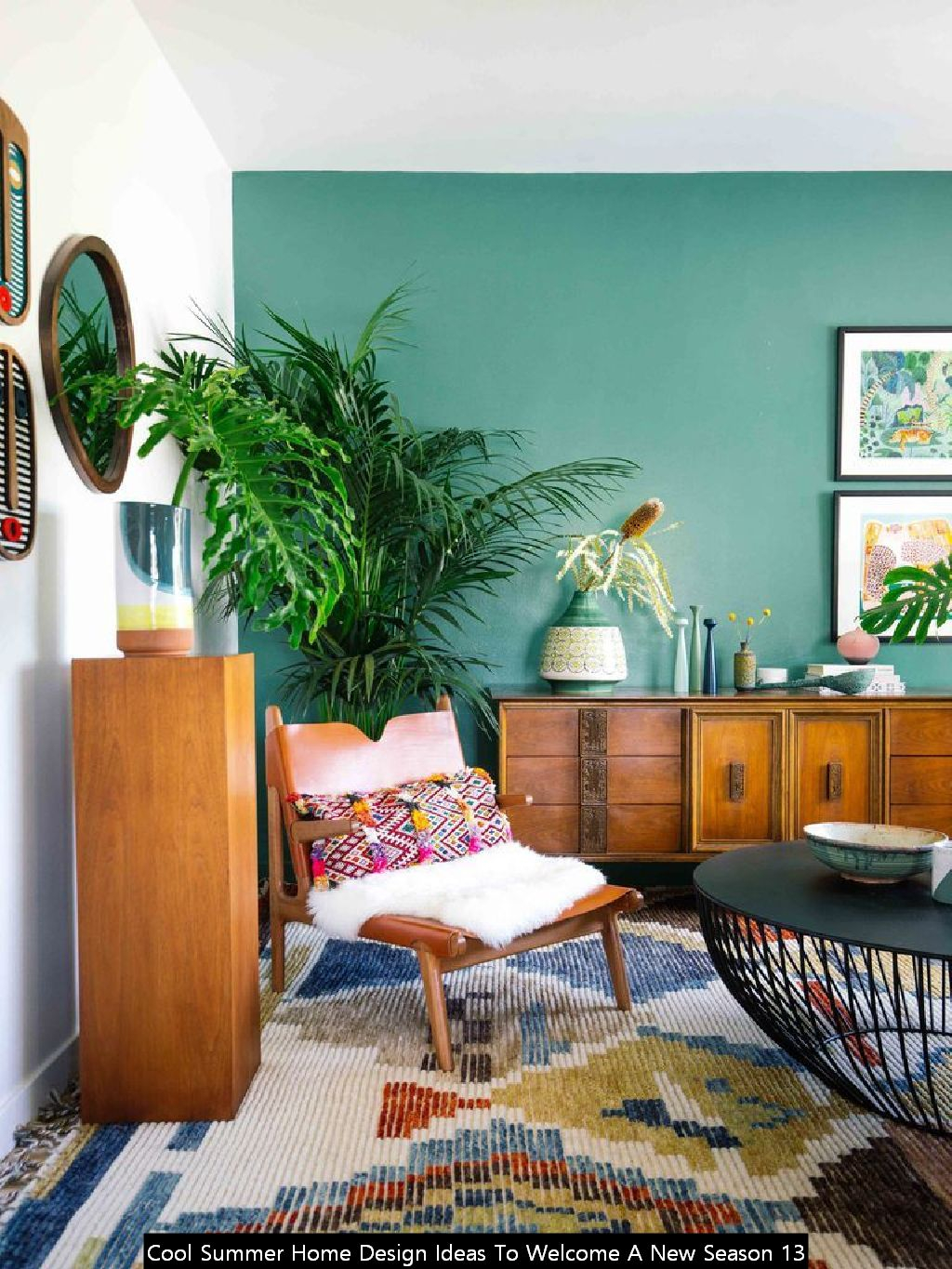 Cool Summer Home Design Ideas To Welcome A New Season 13