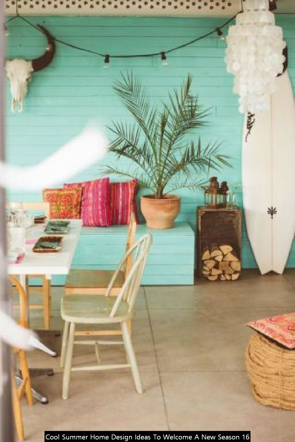 Cool Summer Home Design Ideas To Welcome A New Season 16