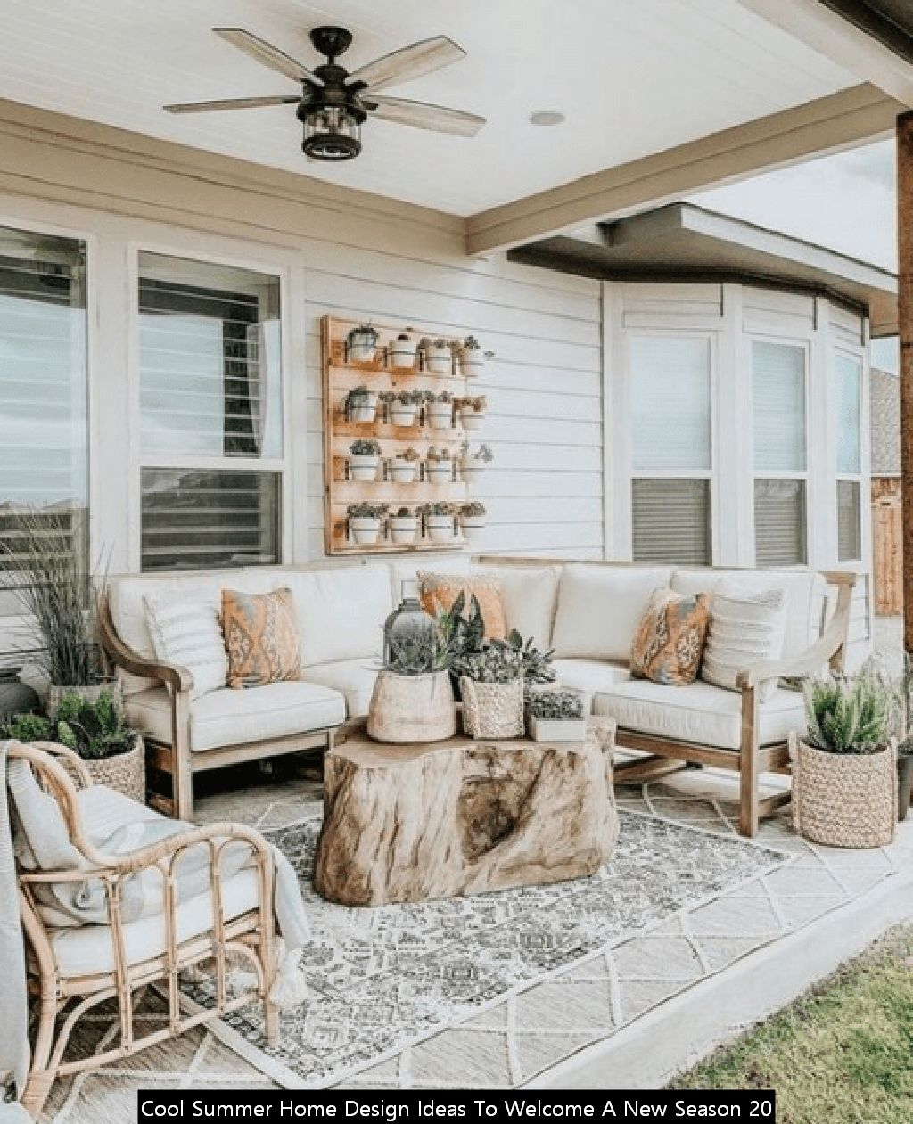 Cool Summer Home Design Ideas To Welcome A New Season 20