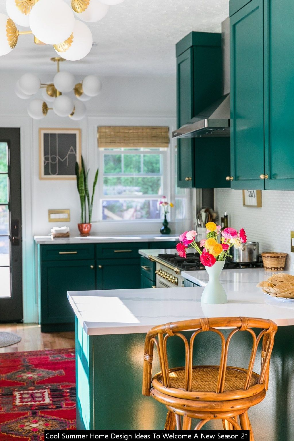 Cool Summer Home Design Ideas To Welcome A New Season 21