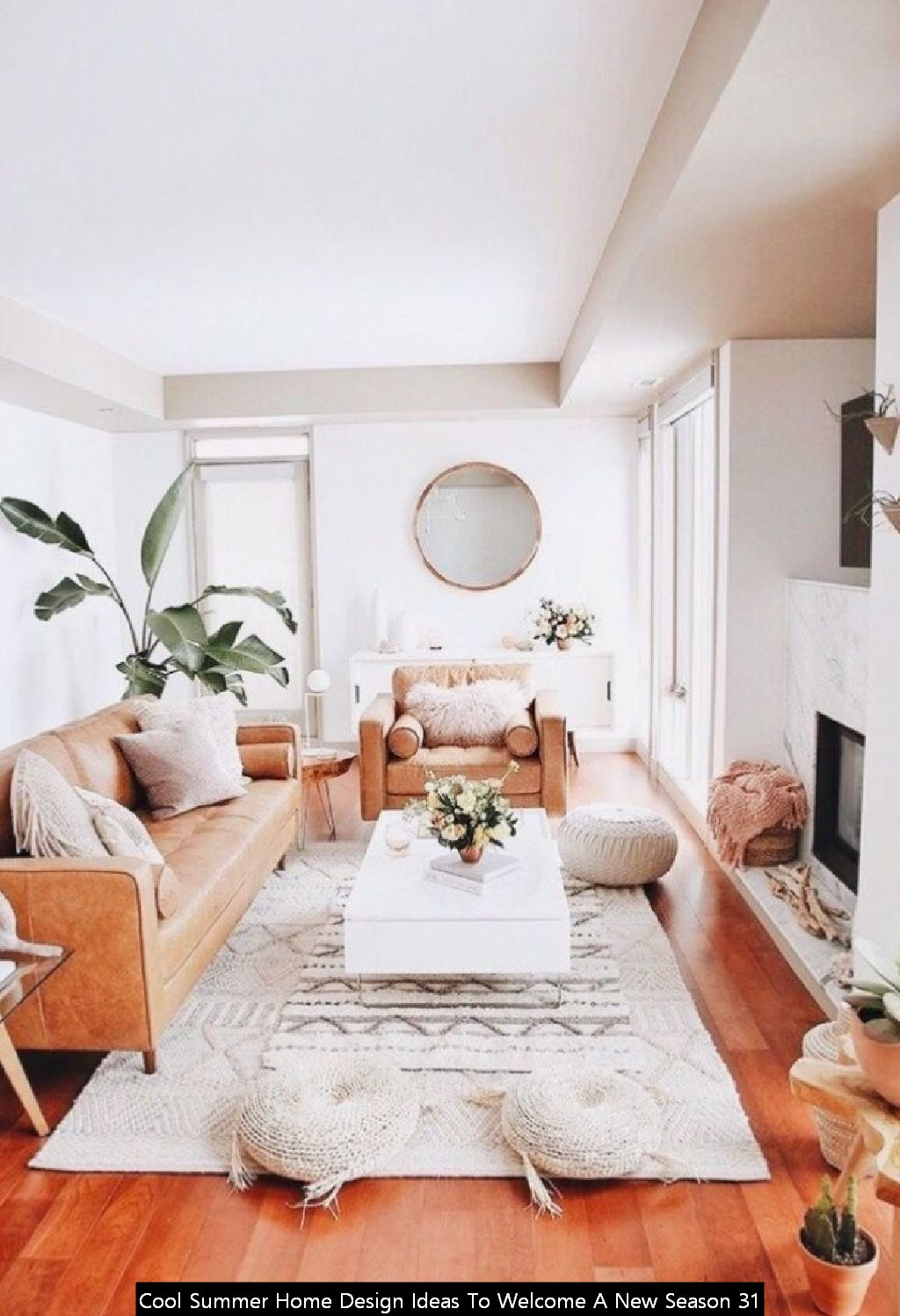 Cool Summer Home Design Ideas To Welcome A New Season 31