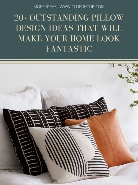 20+ Outstanding Pillow Design Ideas That Will Make Your Home Look Fantastic
