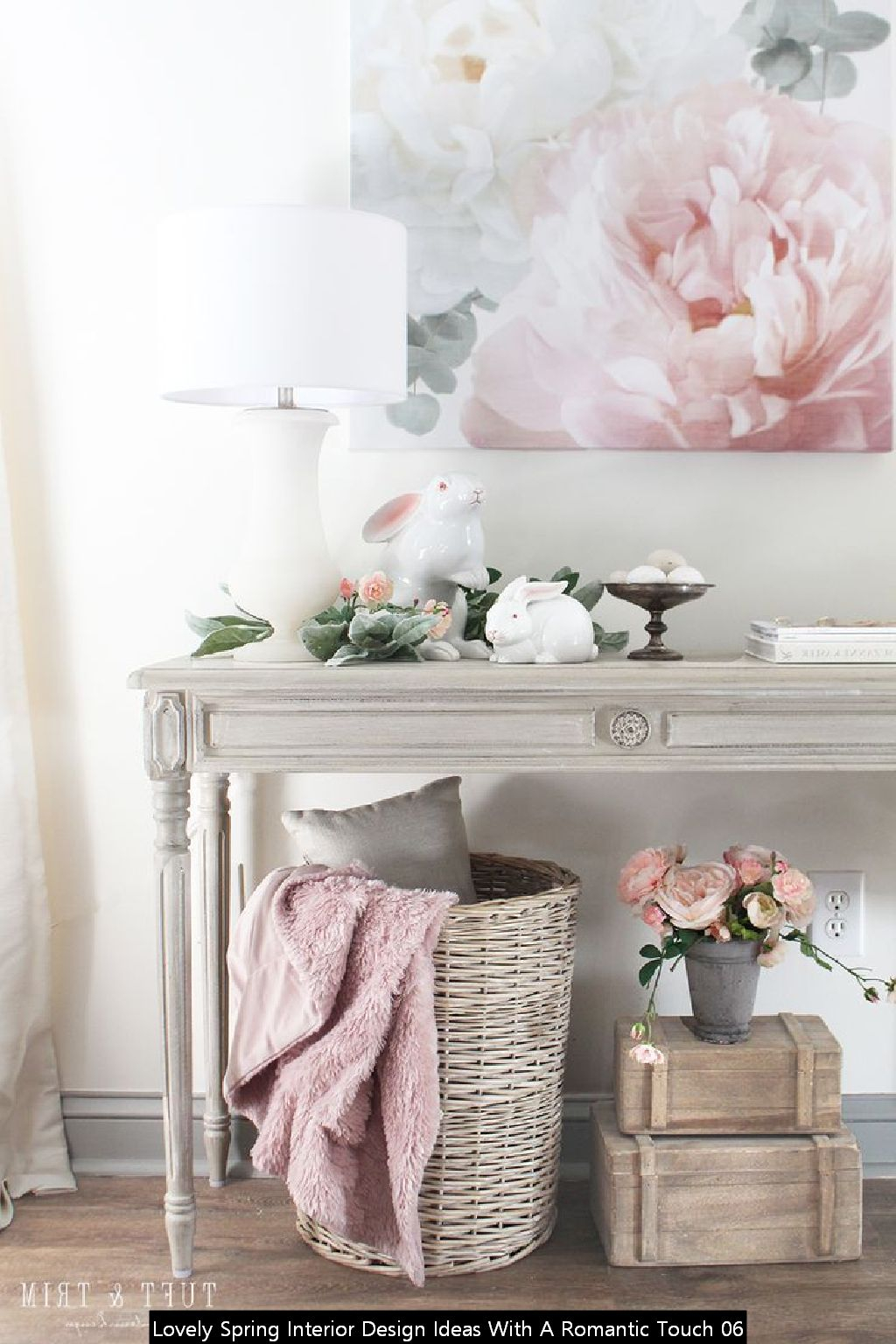 Lovely Spring Interior Design Ideas With A Romantic Touch 06