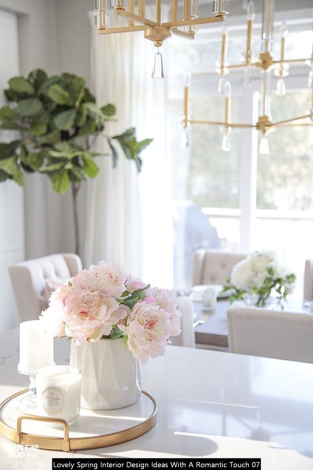 Lovely Spring Interior Design Ideas With A Romantic Touch 07