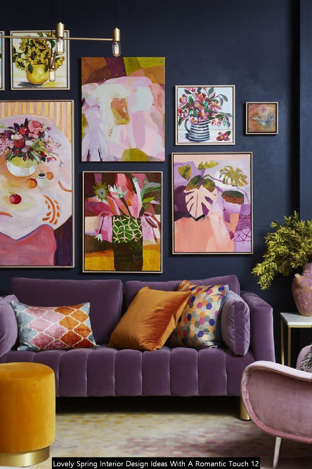 Lovely Spring Interior Design Ideas With A Romantic Touch 12