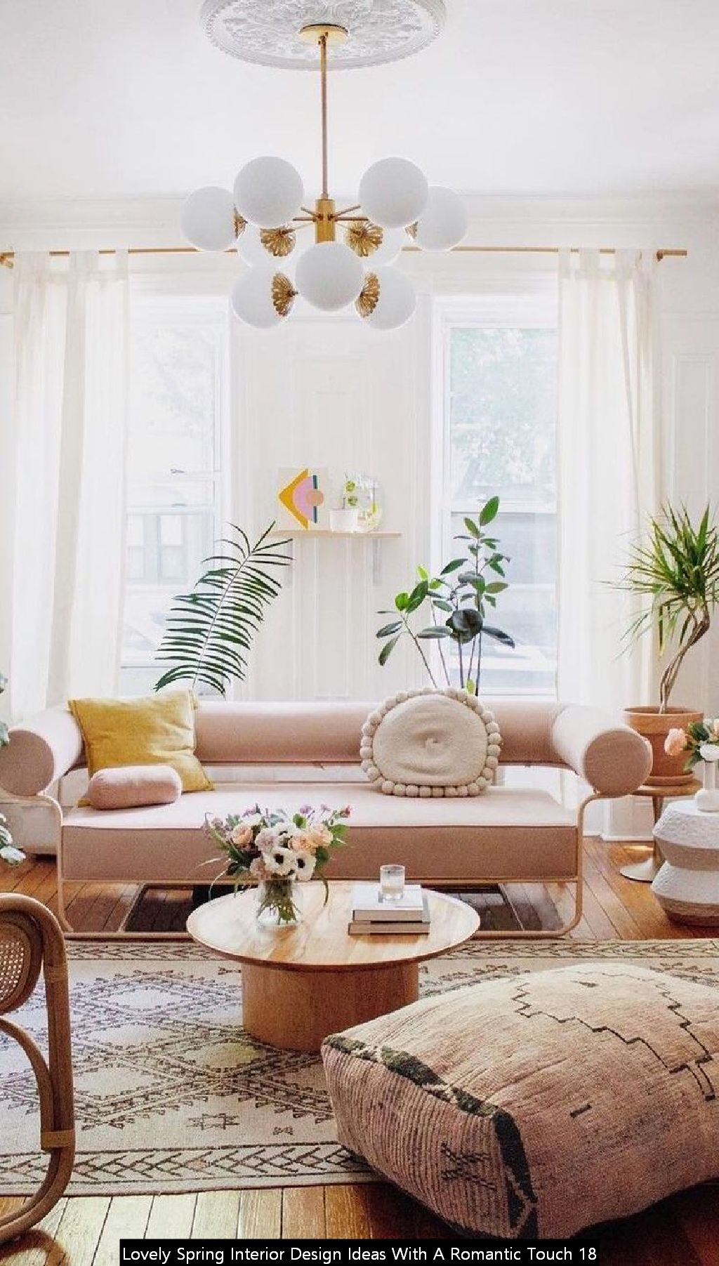 Lovely Spring Interior Design Ideas With A Romantic Touch 18