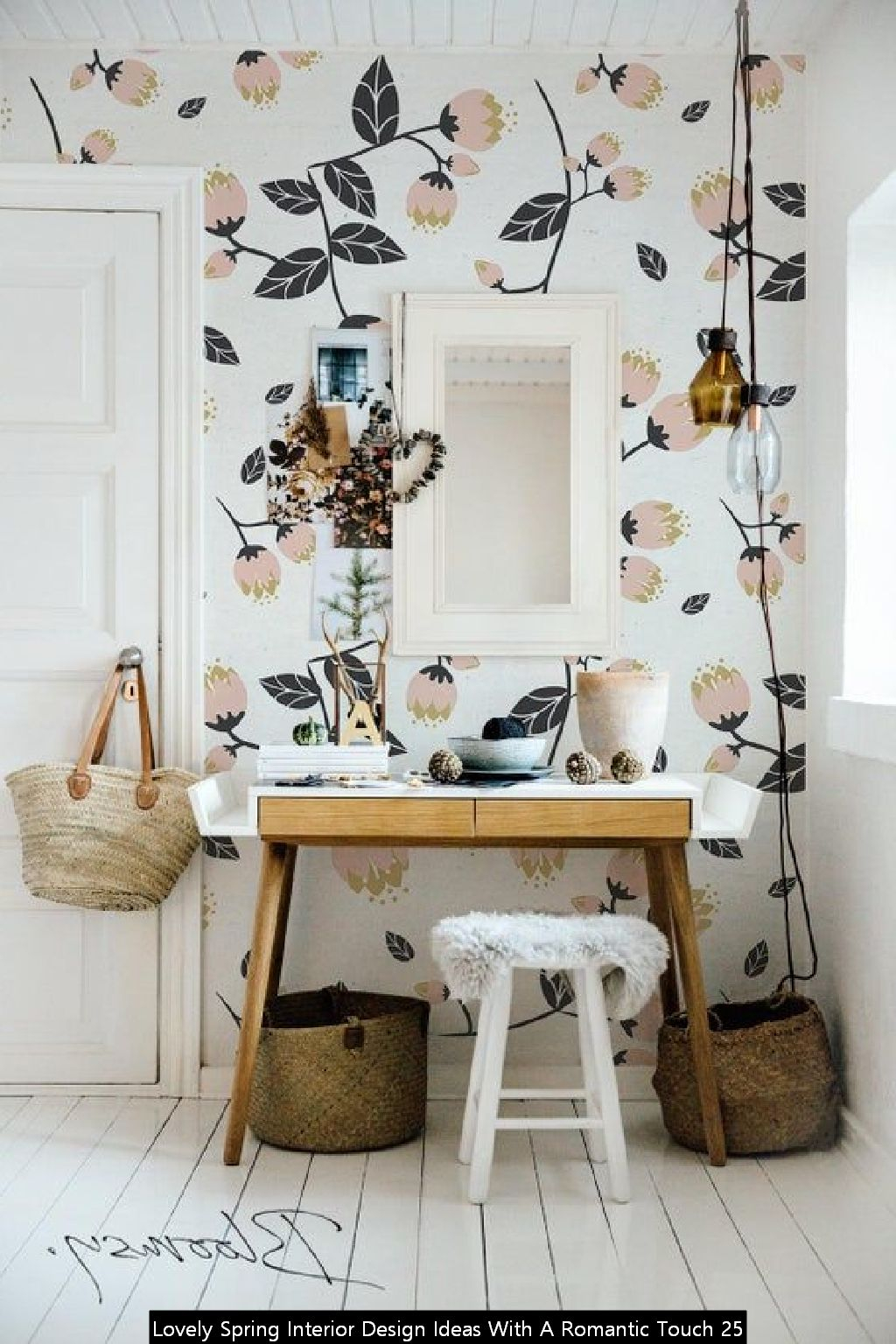 Lovely Spring Interior Design Ideas With A Romantic Touch 25