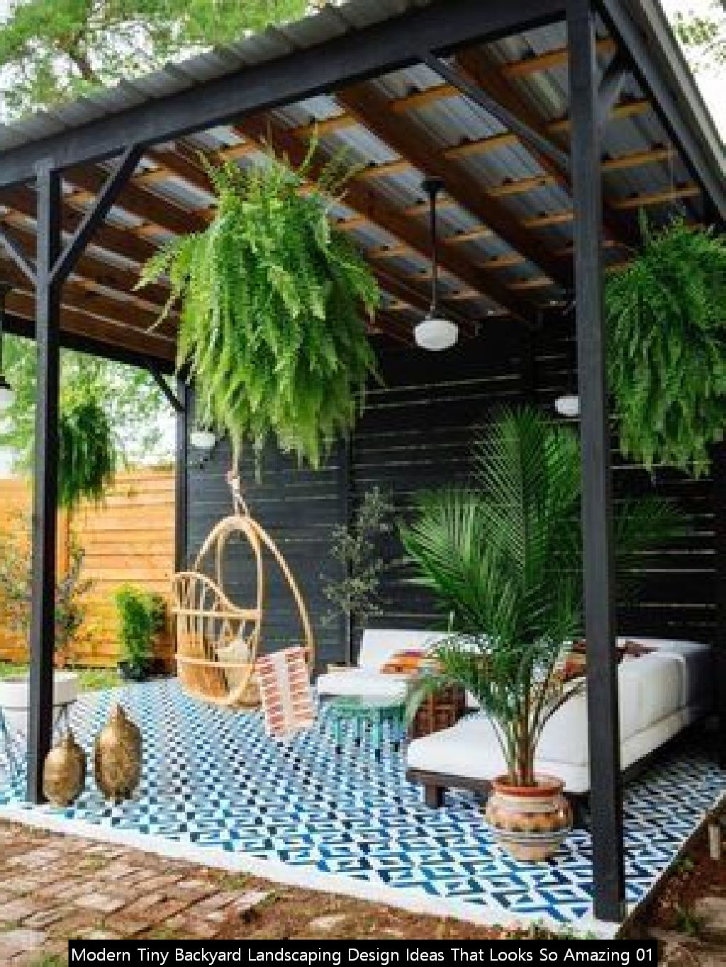 Modern Tiny Backyard Landscaping Design Ideas That Looks So Amazing 01