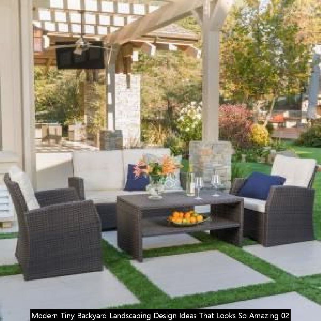Modern Tiny Backyard Landscaping Design Ideas That Looks So Amazing 02