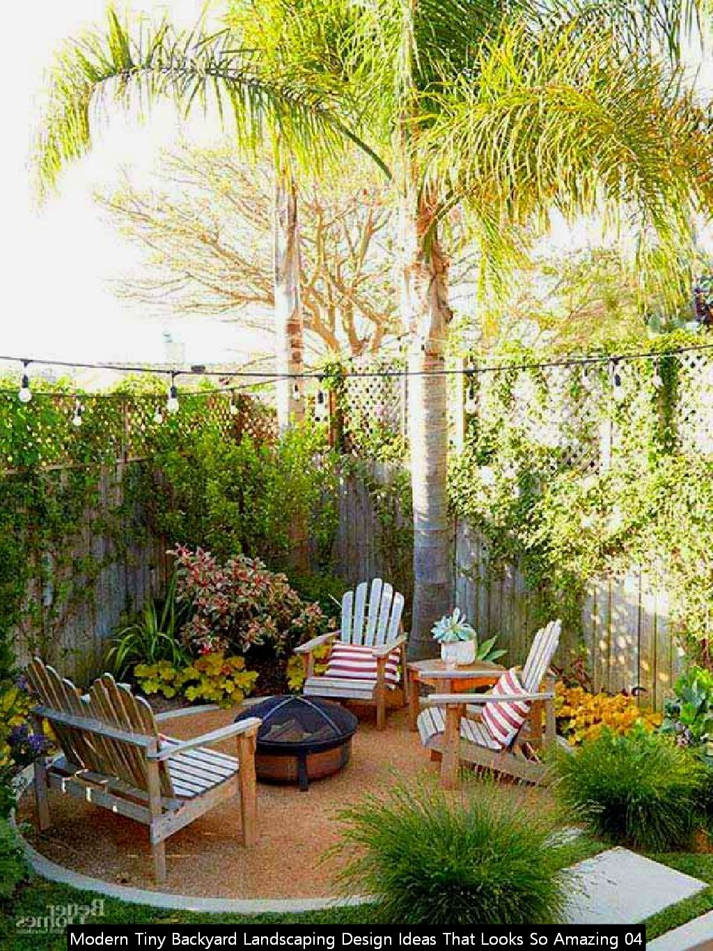 Modern Tiny Backyard Landscaping Design Ideas That Looks So Amazing 04