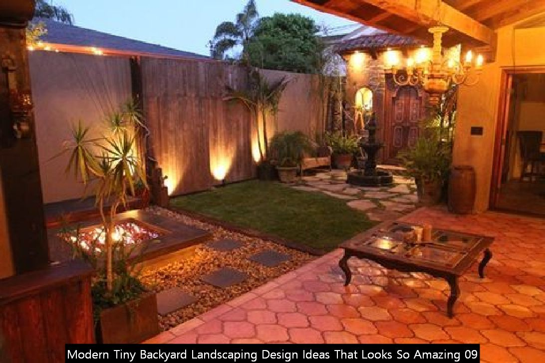 Modern Tiny Backyard Landscaping Design Ideas That Looks So Amazing 09