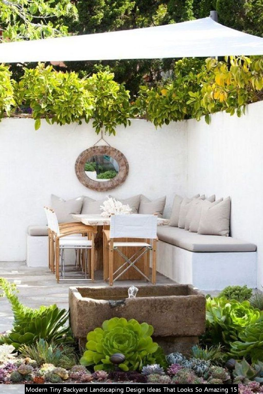 Modern Tiny Backyard Landscaping Design Ideas That Looks So Amazing 15