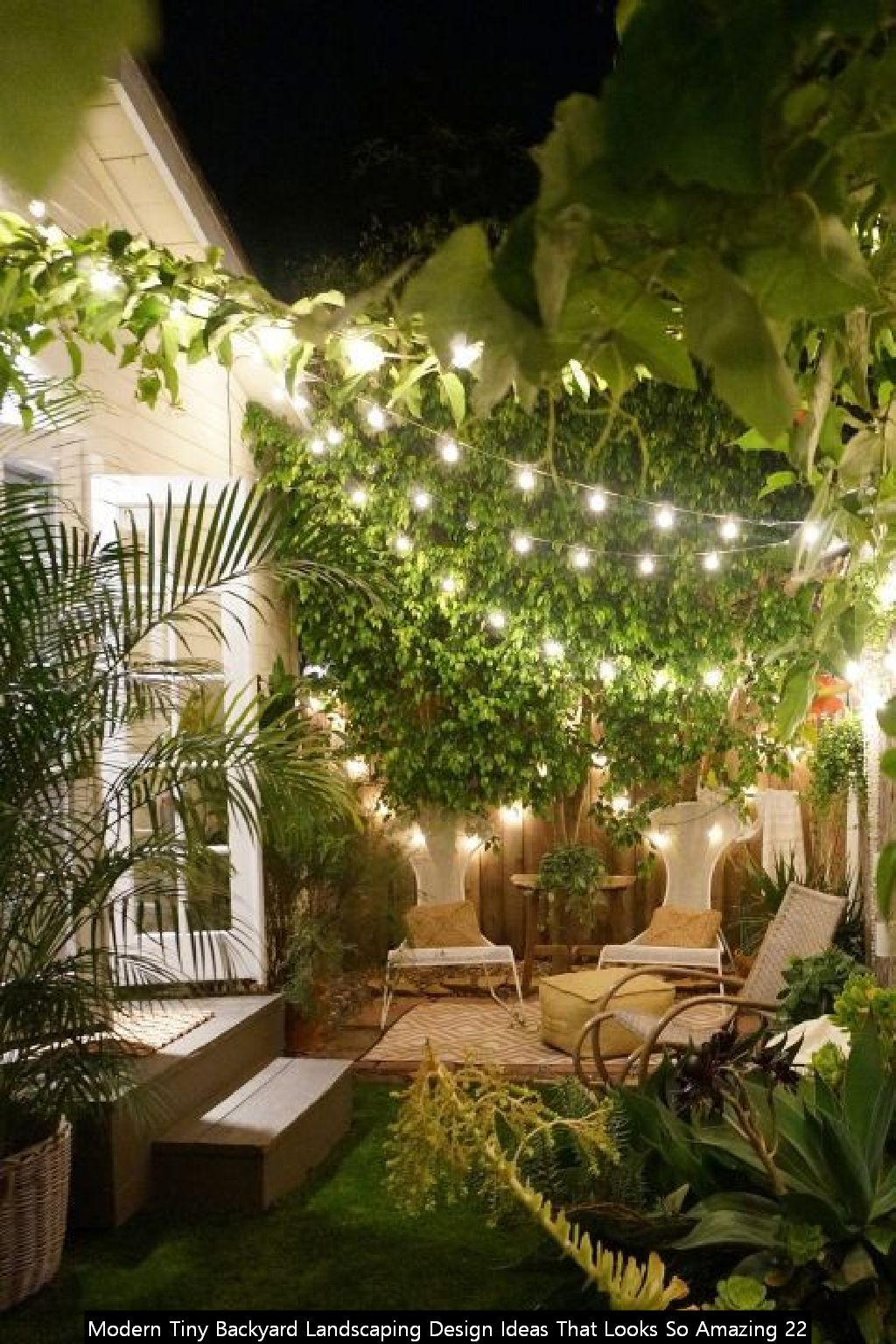 Modern Tiny Backyard Landscaping Design Ideas That Looks So Amazing 22