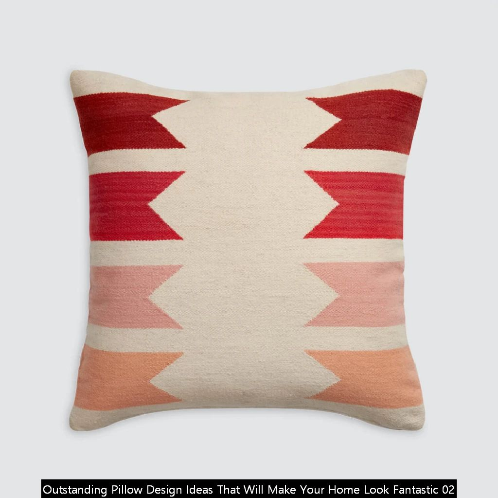 Outstanding Pillow Design Ideas That Will Make Your Home Look Fantastic 02