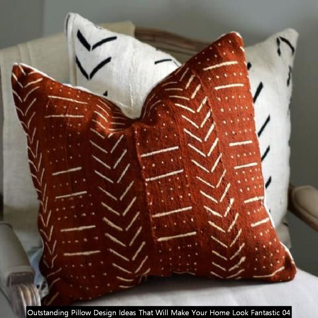 Outstanding Pillow Design Ideas That Will Make Your Home Look Fantastic 04